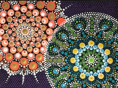 Dot Mandalas - Angie Parkins - Sept 18